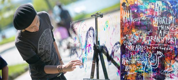アーティスト「Cigarette-burns」による日本一周ARTツアー実施プロジェクト